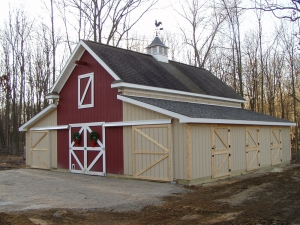 Lean To Addition Project Custom Barn Construction