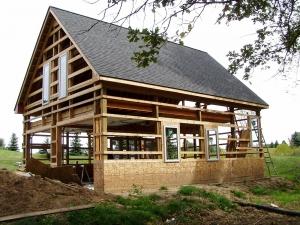 24 X 32 X 12 Loft Porch Michigan Loft Barn