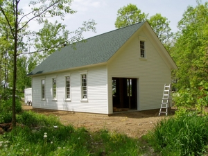 24 X 40 X 12 School House Loft Michigan Loft Barn