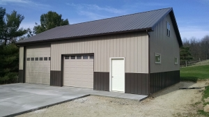 30 X 40 X 12 Loft Michigan Loft Barn Construction