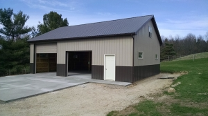 30 X 40 X 12 Loft Michigan Loft Barn Construction Burly Oak Builders
