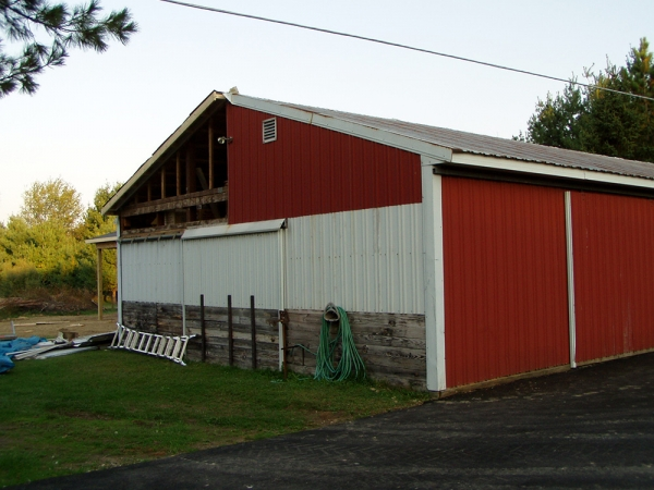 30 x 40 Restoration + House Addition - Barn Restoration Services