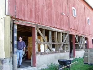 Old Gambrel Barn Restoration - Barn Restoration Services ...
