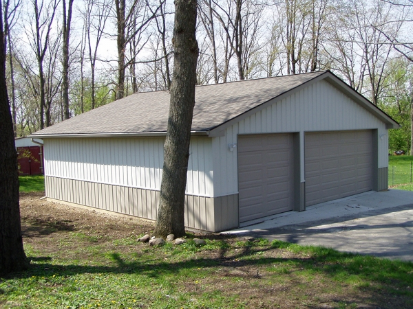 32 X 32 X 8 Garage Custom Garage Construction Michigan
