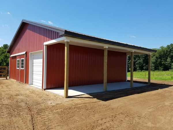 Best Pole Barns Saline Mi Burly Oak Builders