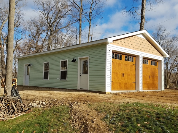 Custom Post Frame Buildings Jackson County MI - Burly Oak Builders - helgeson__5_