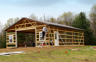 Pole Barns Livingston County Mi Burly Oak Builders