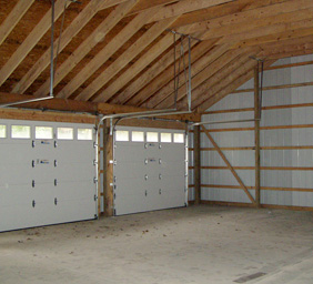 Custom Out Buildings Pinckney MI - Burly Oak Builders - metal-car