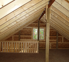 Custom Out Buildings Pinckney MI - Burly Oak Builders - pole-loft