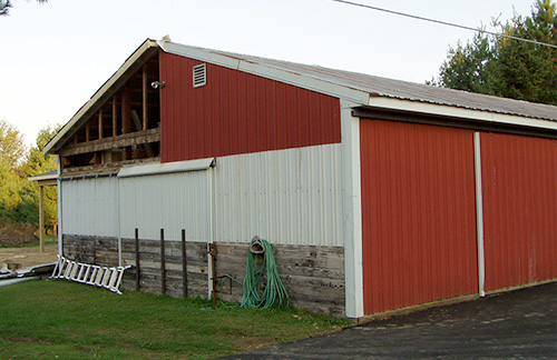 Michigan Barn Construction Photo Gallery - Burly Oak Builders - port-restore