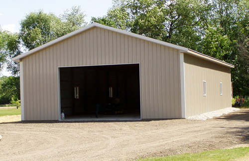 Michigan Barn Construction Photo Gallery - Burly Oak Builders - port-standard